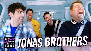 Download lagu Jonas Brothers Carpool Karaoke
