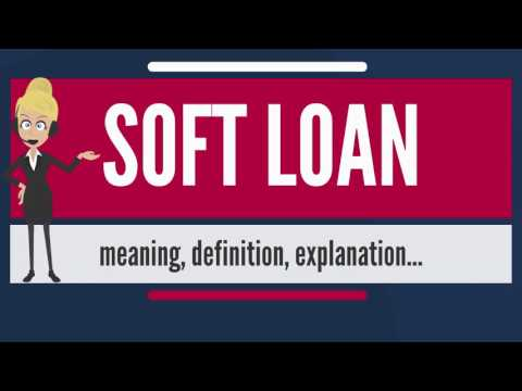 What is SOFT LOAN? What does SOFT LOAN mean? SOFT LOAN meaning, definition & explanation