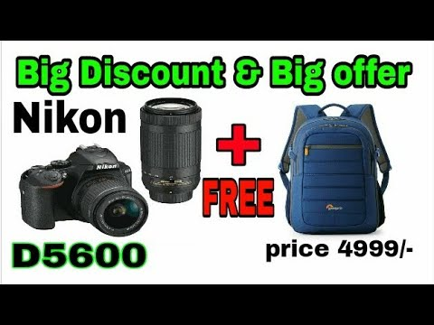 NIKON DSLR D5600 OFFER AND NEW PRICE 2018!