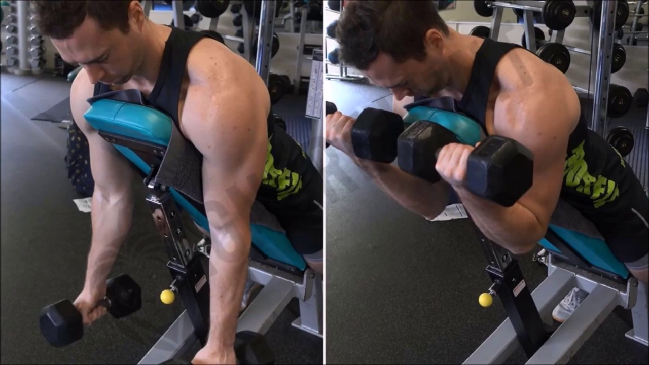 How To: Dumbbell Spider Curl - Ignore Limits