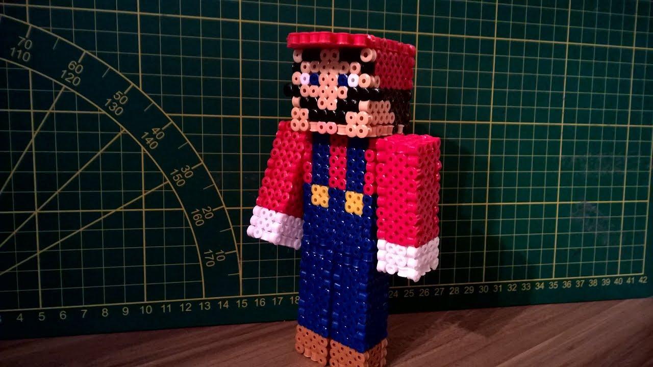 Bugelperlen Vorlage Minecraft 6 Diamant Perler 3