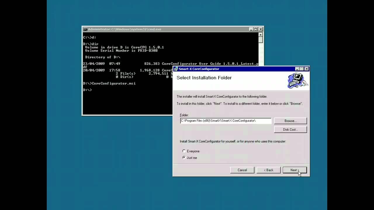 coreconfigurator 2.msi