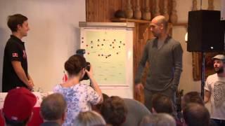 Pep Guardiola an der Taktiktafel (HD)
