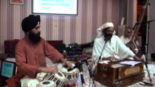 Dr Swami Satya Prakash sings classical Indian music in South Asian Celebration, 2014