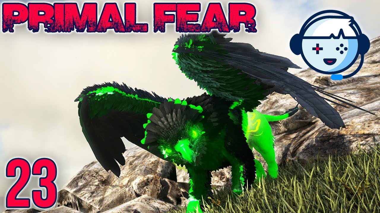 Taming A Poison Griffin! | Primal Fear: Ragnarok | Ark: Survival Evolved |  S1:Ep23