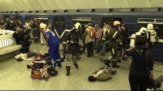ТЕРАКТ Первые секунды после взрыва метро в Санкт Петербурге 03 апреля 2017