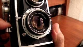 Zeiss Ikon Ikoflex. (medium format film camera)