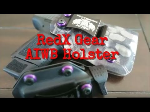 Red X Gear Aiwb Holster Review