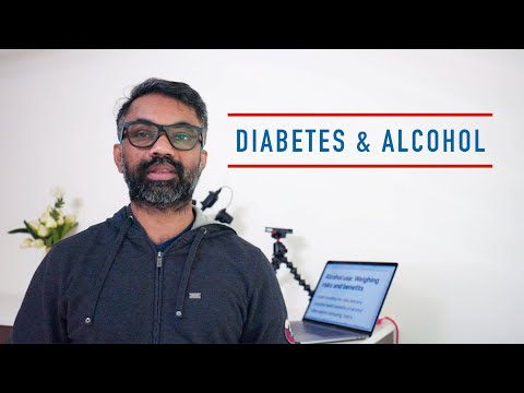 Diabetes And Alcohol - Can Diabetics Drink Alcoholic Beverages ? | Beer / Wine
