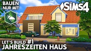 Jahreszeiten Haus #1 | Bauen nur mit Die Sims 4 Jahreszeiten (deutsch)