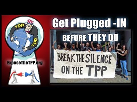 TPP Trans Pacific Partnership with D'Marie Mulattieri on CthePower