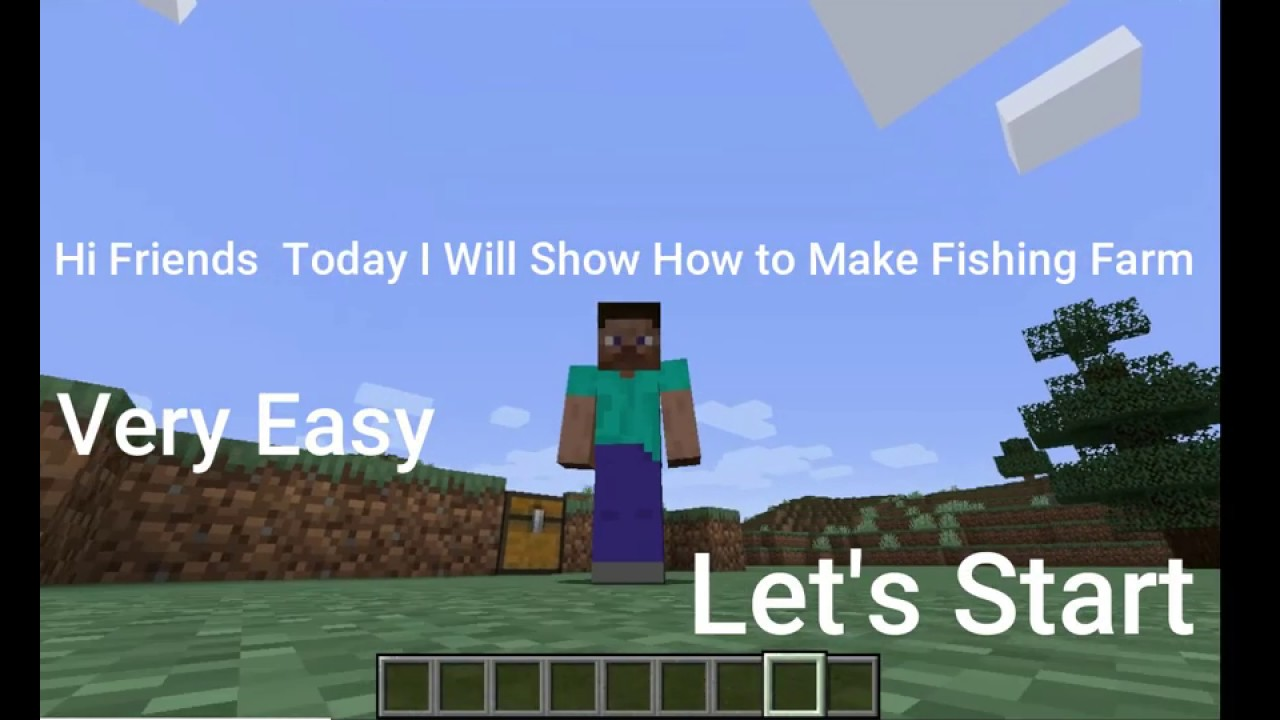 How to make automatic fishing farm in Minecraft hindi ...