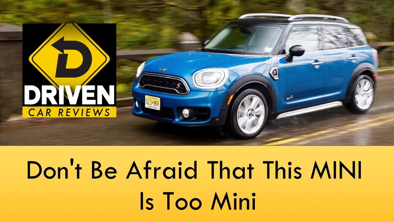 2017 Mini Countryman Cooper S All4 Review
