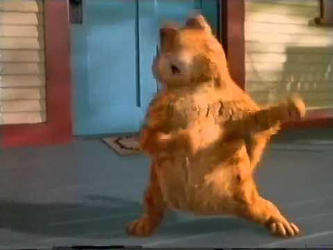 танец кота Гарфилда