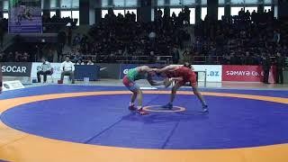 1/16 final FS - 51 kg: Ziya Göyüşov (AZE) - Sübhan Səfərli (AZE)