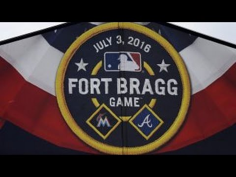 MLB hosting first ever pro sports game at an active military base