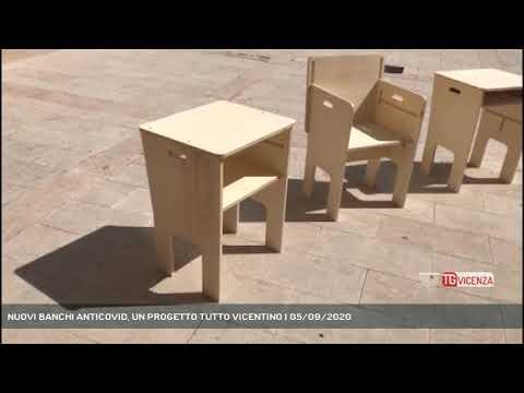 NUOVI BANCHI ANTICOVID, UN PROGETTO TUTTO VICENTINO | 05/09/2020