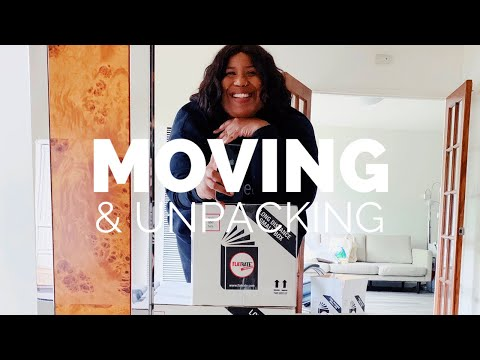 MOVING DAY + UNPACKING VLOG | AND I GET DRESSED