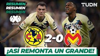 Resumen y Goles | América 2 - 0 Morelia | Liga Mx - AP 19 - Semifinal | TUDN