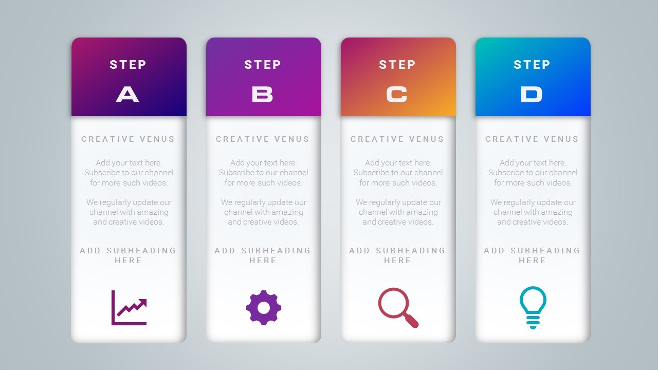 workflow process or sales graphic design in microsoft office