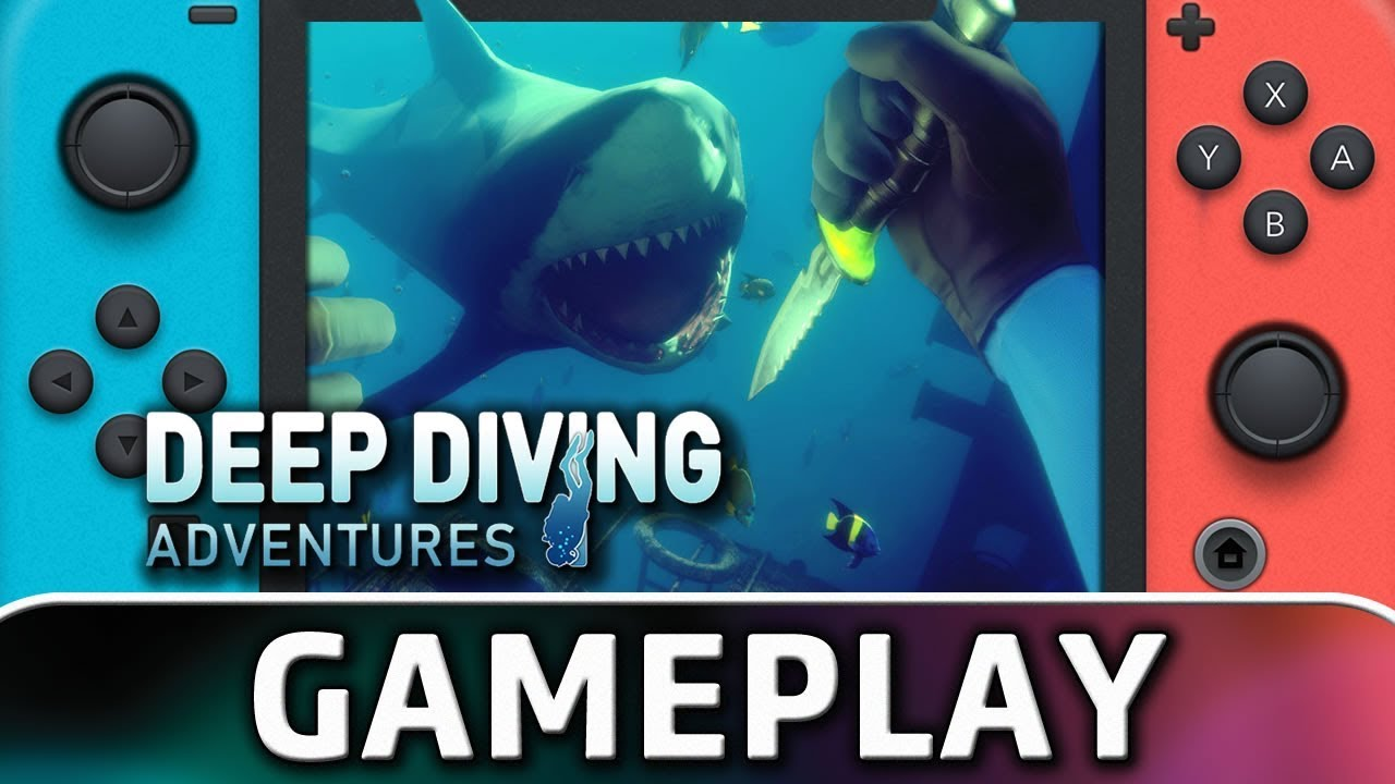 Deep Diving Adventure | First 10 Minutes on Nintendo Switch