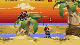 Zero the Kamikaze Squirrel Gameplay HD Sega Genesis Mega Drive Online LongPlay Walkthrough