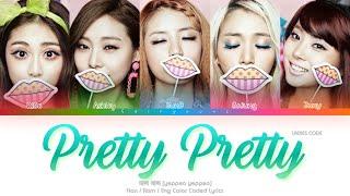Ladies' Code (레이디스 코드) Pretty Pretty (예뻐 예뻐) Color Coded Lyr…