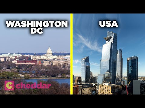 The Real Reason Washington D.C. Doesn't Have Skyscrapers -  Cheddar Explains