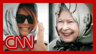 Why first lady's UK fashion choices are creating buzz