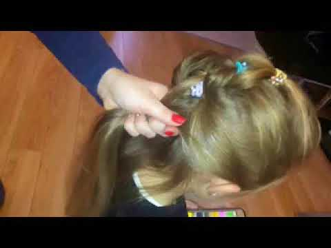 Uczesanie Dla Dziewczynki Prosta Efektowna Fryzura Do