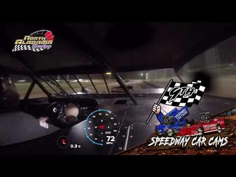 #F44 Heath Johnson - 604 Both Features - 7-14-18 North Alabama Speedway - In Car Camera