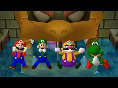 Mario Party 3 - All 4-Player Minigames