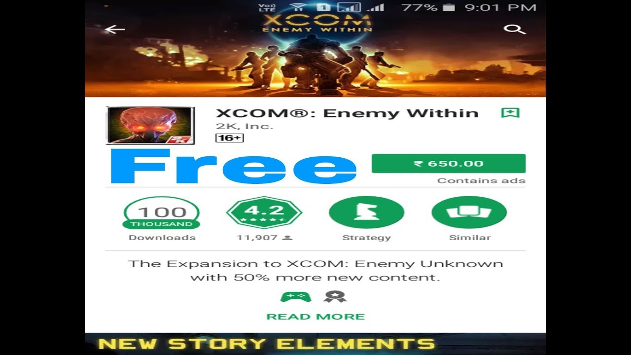 xcom enemy within apk play mob
