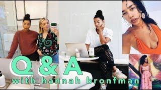 Q&A with Hannah Bronfman! | Estée Lalonde