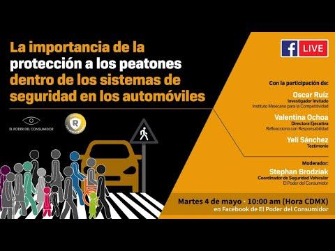 La importancia de la protección a peatones dentro de los sistemas de seguridad en los automóviles