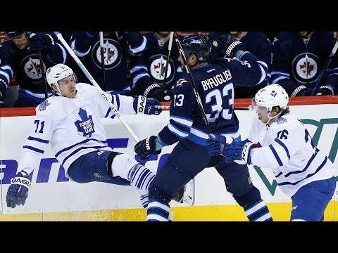 Toronto Maple Leafs At Winnipeg Jets NHL SEASON OPENER NHL 18