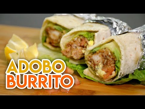 How To Make Adobo Burrito: Easy Recipe