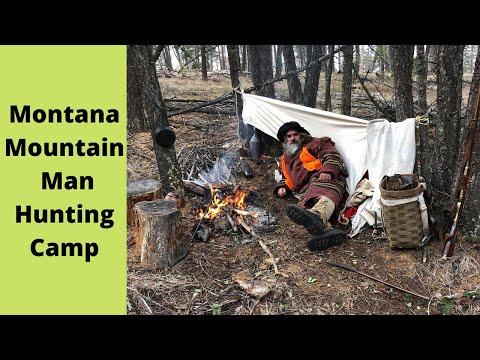 Montana Mountain Man Hunting Camp (full Version)