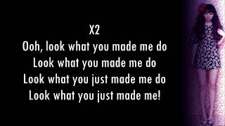 Taylor Swift - Look What You Made Me Do (J.Fla Cover) Lyrics