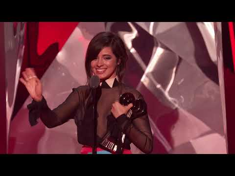 Camila Cabello Acceptance Speech - FanGirls Award | 2018 iHeartRadio Music Awards