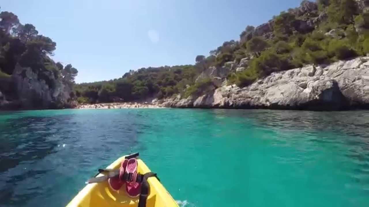 cala macarella kayak