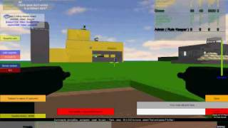 Base wars The Land in 2010 (Roblox Games Design/Demonstration)