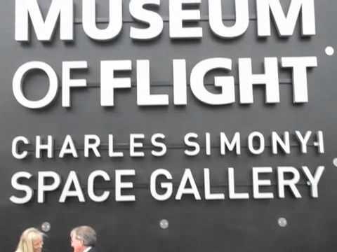 Charles Simonyi at Museum of Flight