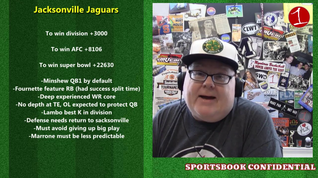 NFL 2020 AFC South Preview .::. Sportsbook Confidential 7/24/20