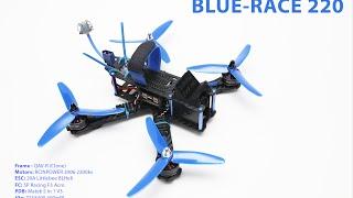 fpv 59 blue race rock roll