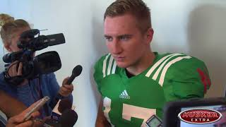 Watch: Bunch on being backup quarterback