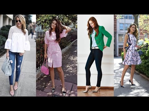 Gorgeous Summer Outfits for Women in Her 30s - 2018 Summer Combination of Colors