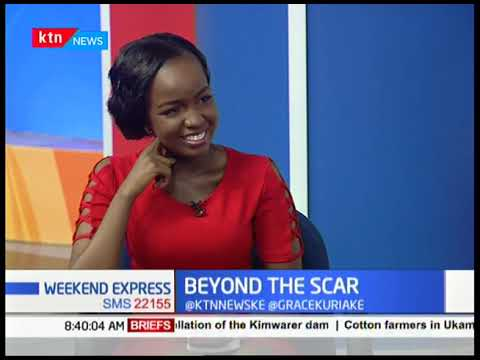 Beyond the scar: With Gilbert Baraza(Mtumishi) who was a morgue barber