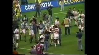 Brasileiro 1994 São Paulo 2x2 Palmeiras Briga