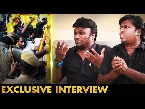போலீஸ் தடுத்தார்கள், கருப்பு சட்டை போட்டதற்கு | Actor Singapore Deepan&George Vijay Nelson Interview